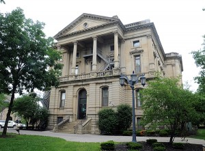 old Lorain County Courthouse on June 25.   Steve Manheim