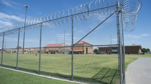 El Reno Federal Correctional Institution in Oklahoma. Thousands of prisoners nationally were just released as a result of changes to sentencing guidelines for drug-related crimes.