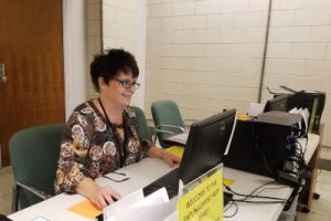 Julie Mennel is the expungement help desk manager for the Neighborhood Christian Legal Clinic in Indianapolis